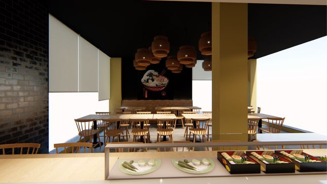 Trespasse / Aluguer de Restaurante Ramen e Sushi