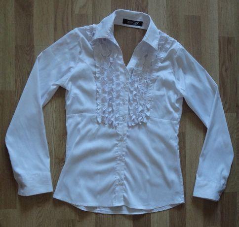 Кофта, рубашка, блуза вышита стеклярусом и биссером