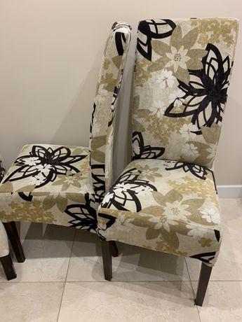 Krzesła tapicerowane 6 sztuk