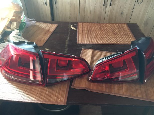 Продам комплект задних фонаре на VW Golf 7 VII
