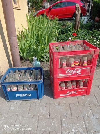 Pepsi Cola coca-cola stare butelki zestaw