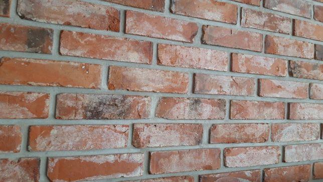 Stara cegła, lica, stare cegły, płytki z cegły,cięte cegły,cegła Śląsk