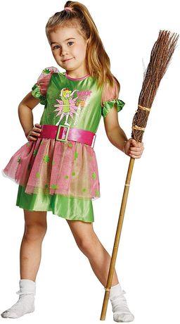 Rubie bibi Blocksberg sukienka kostium dla dzieci