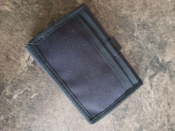 NOWY nie używany portfel męski portmonetka damska czarny z kieszonkami