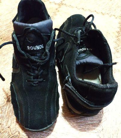 Замшевые (нубуковые, кожаные, кожа) кроссовки Allrounder 38 размер
