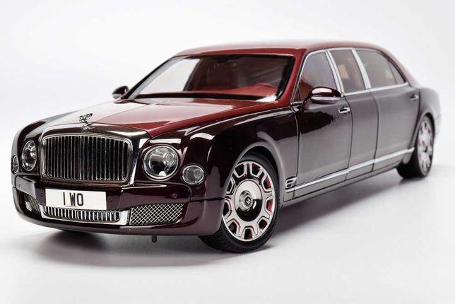 1/18 модель Bentley Mulsanne Grand Limousine Almost Real
