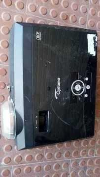 Projector HDMI 3000 lumens como novo para montras cafés e lojas