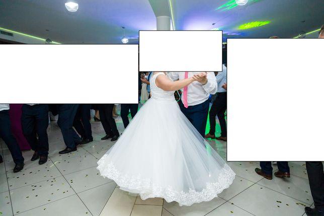 Suknia ślubna rozmiar 46