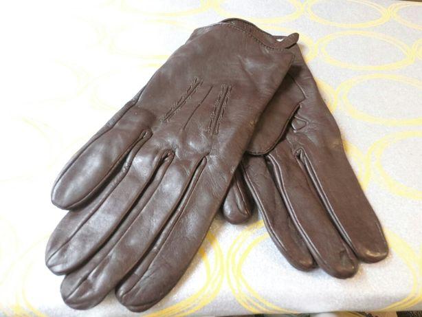 Перчатки мужские 9,5 р натуральная кожа Румыния фабричные