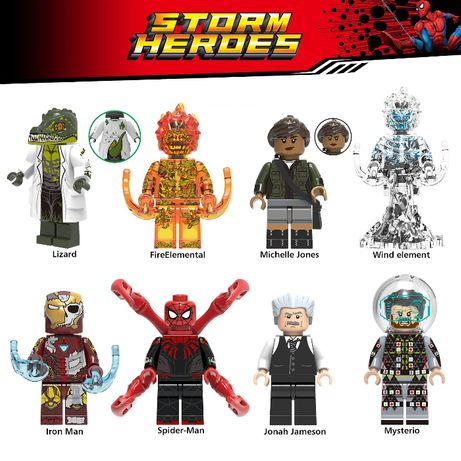 Bonecos / Minifiguras Super Heróis nº167 Marvel (compativeis com lego)