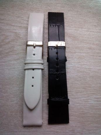 ремінці для годинника на руку, шкіра, розмір 19 і 20.
