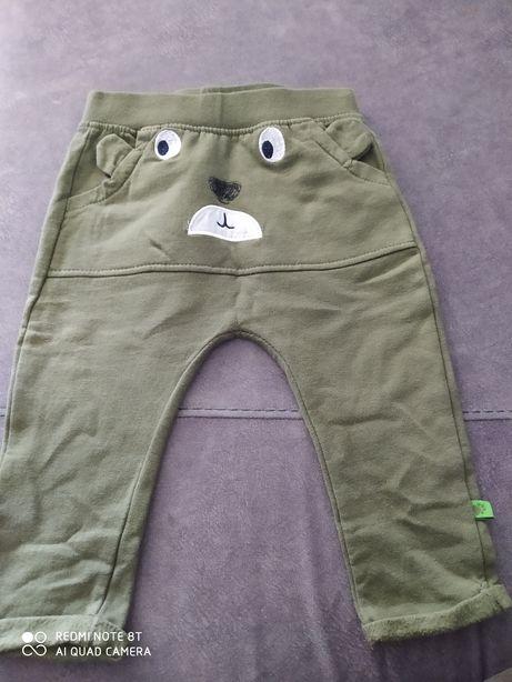 Spodnie 5 10 15 rozmiar 74