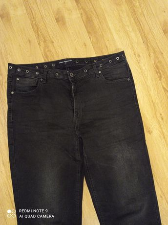 Czarne jeansy Reserved rozmiar 42