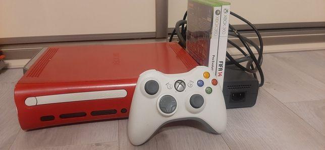 Konsola Xbox 360 Elite Jasper Hdmi 120gb Czerwony