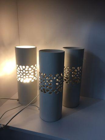 Lampa ceramiczna tuba