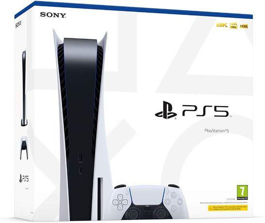 Konsola Sony Playstation 5 - NOWA, gwarancja, prosto ze sklepu
