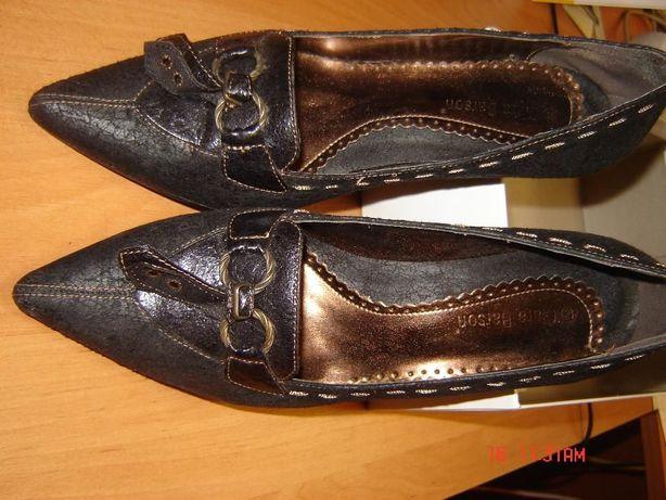 sprzedam buty czarne- czółenka