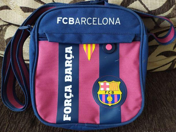 Saszetka i czapka FC Barcelona