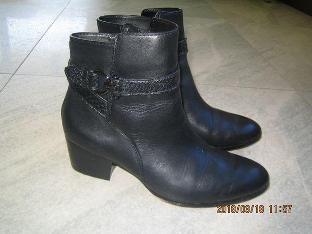 buty damskie solidne skórzane