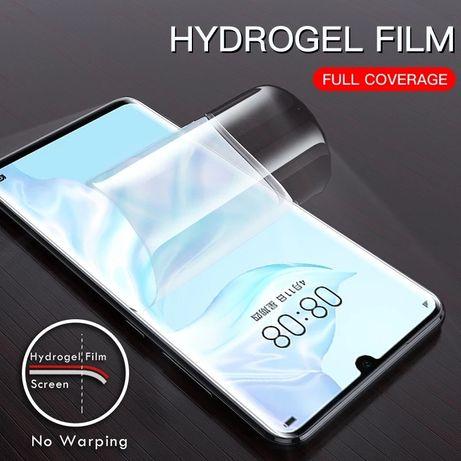 Защитная гидрогелевая пленка для Huawei p20, p20 lite, p20 pro
