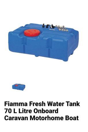 Zbiornik Na Wodę Tank 70 Litrów Fiamma, Kamper Przyczepa Kempingowa