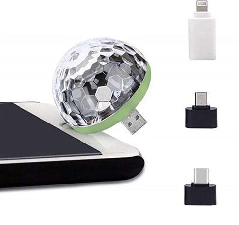 Светодиодный USB музыкальный шар
