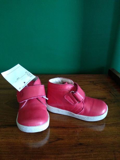 Nowe buty wiosenne przejściowe Falcotto czerwone rozmiar 20