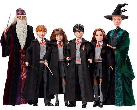 Коллекционные куклы-фигурки Гарри Поттер от Mattel Harry potter
