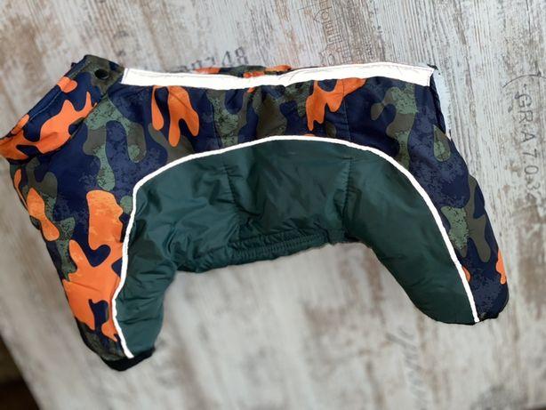 Одежда для собак Зимний комбинезон пуховик для собак L