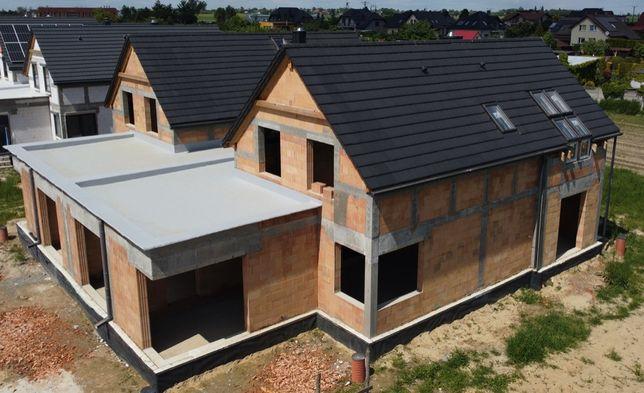 Budowa domów - wolne terminy od 08.2021