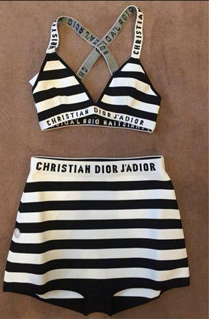Dior Christian оригинал как новый як новий купальник полоску