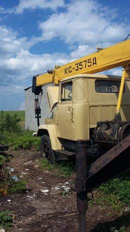КрАЗ кран КС 35-75 Автокран