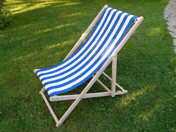 Шезлонг пляжний садовий дерев'яний лежак три варіанти кольору