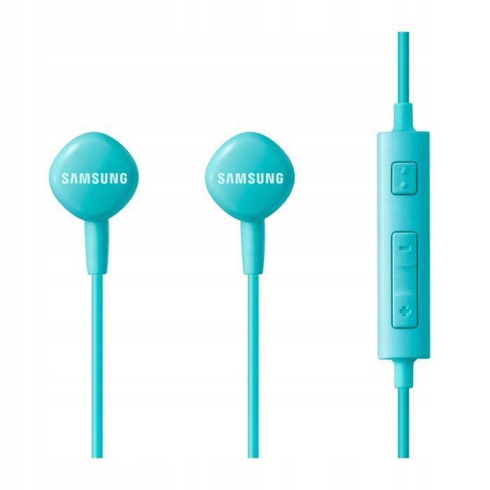 Słuchawki Oryginalne - Samsung EO-HS1303 - niebieski BLISTER Kraków - image 1