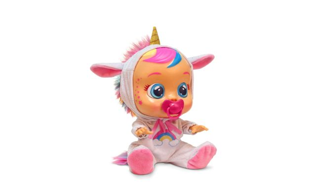 Boneca Babies Cry Fantasy Dreamy Unicórnio Brinquedo Novo