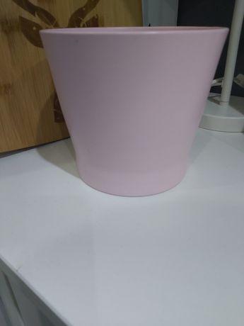 Oslonka doniczki jasnoróżowy 12cm