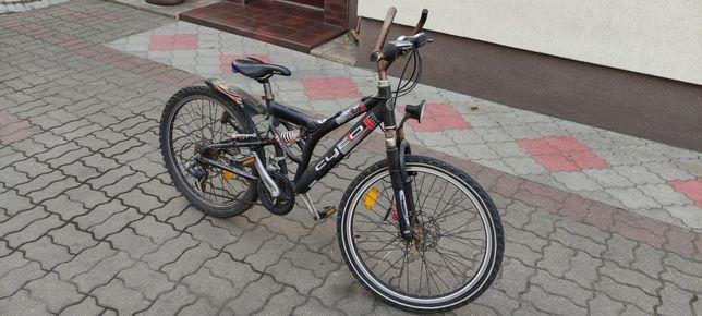 """Niemiecki rower górski MTB Cyco C24 24"""" dziecięcy"""