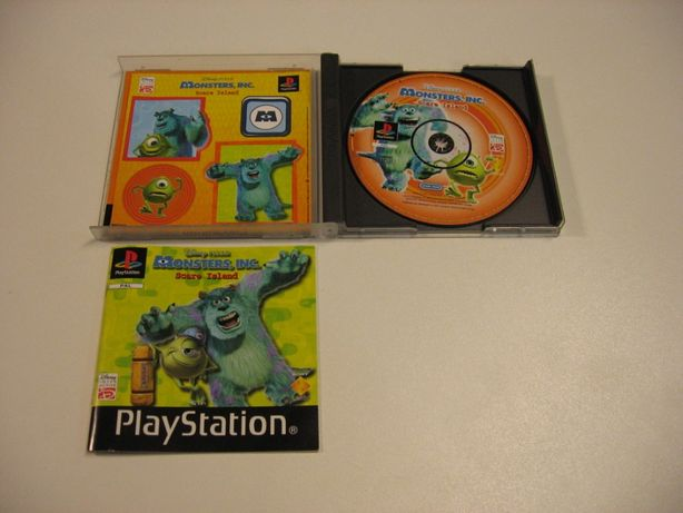 Disney Pixar The Monsters - GRA - PSX PS1 - Opole 1247