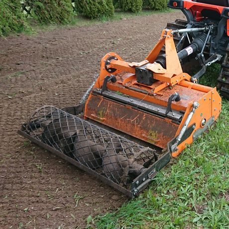 Mini traktor glebogryzarka separacyjna mulczer trawniki