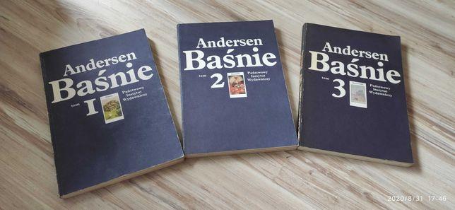 Andersen Baśnie 3 tomy 1984r.!