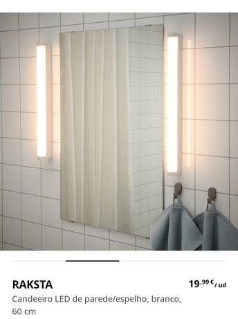 Candeeiros Raksta led de parede(IKEA)