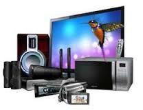 Ремонт телевизоров и различной бытовой техники.