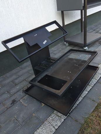 Regał podest stojak metal szafka rtv