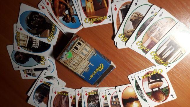 Карты игральные, подарок,сувенирные карты Одесса