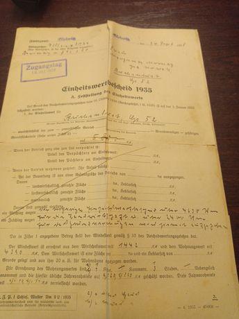 Stare Dokumenty 1934roku