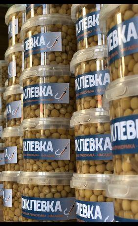 Производители Прикорма для рыбалки ПОКЛЁВКА .Горох, оптовый прайс