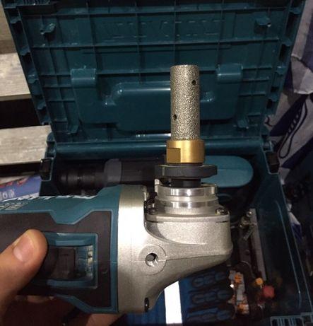 Сверло коронка шарошка алмазный палец 20 мм для керамогранита на УШМ