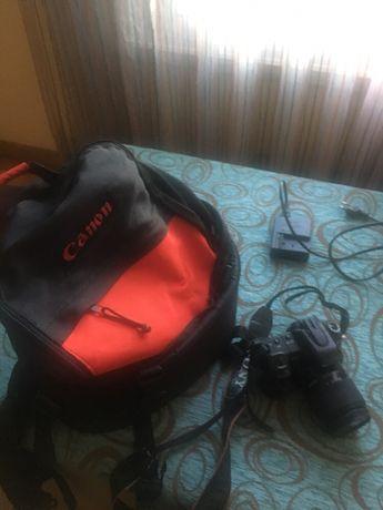 Câmara Digital Sony modelo:DSLR-A200 + Mochila para transporte