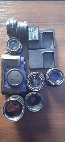 Fujifilm XA-1 оптика Minolta Индустар