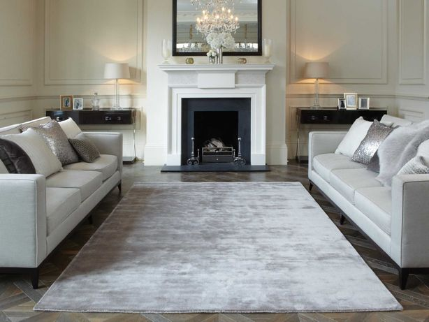 De Dimora   włoski dywan  ręcznie tkany  jedwab roślinny , 90 x 150 cm
